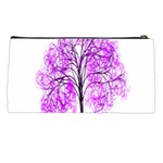 Purple Tree Pencil Cases Back