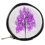 Purple Tree Mini Makeup Bags Back