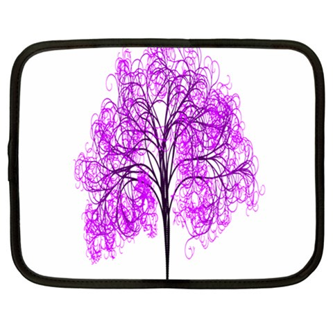 Purple Tree Netbook Case (XL)