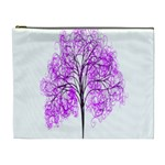 Purple Tree Cosmetic Bag (XL) Front