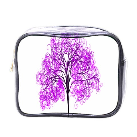 Purple Tree Mini Toiletries Bags