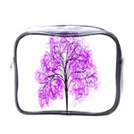 Purple Tree Mini Toiletries Bags Front