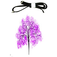Purple Tree Shoulder Sling Bags