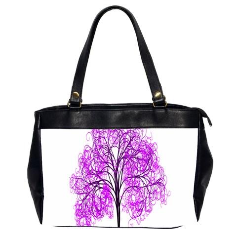 Purple Tree Office Handbags (2 Sides)