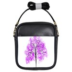 Purple Tree Girls Sling Bags Front