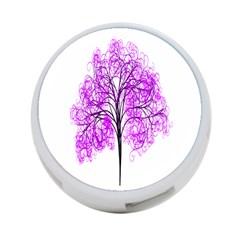 Purple Tree 4-Port USB Hub (One Side)