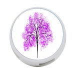 Purple Tree 4-Port USB Hub (Two Sides)  Front