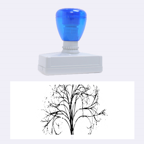 Purple Tree Rubber Stamps (Large)