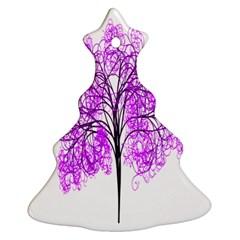 Purple Tree Ornament (Christmas Tree)