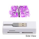 Purple Tree Memory Card Reader (Stick)  Front
