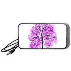 Purple Tree Portable Speaker (Black)