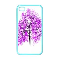Purple Tree Apple iPhone 4 Case (Color)