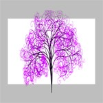 Purple Tree Deluxe Canvas 16  x 12   16  x 12  x 1.5  Stretched Canvas
