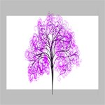 Purple Tree Deluxe Canvas 20  x 16   20  x 16  x 1.5  Stretched Canvas