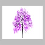 Purple Tree Deluxe Canvas 24  x 20   24  x 20  x 1.5  Stretched Canvas
