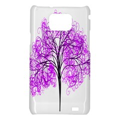 Purple Tree Samsung Galaxy S2 i9100 Hardshell Case