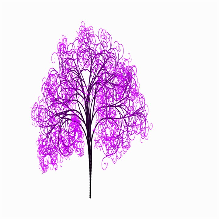 Purple Tree Large Garden Flag (Two Sides)