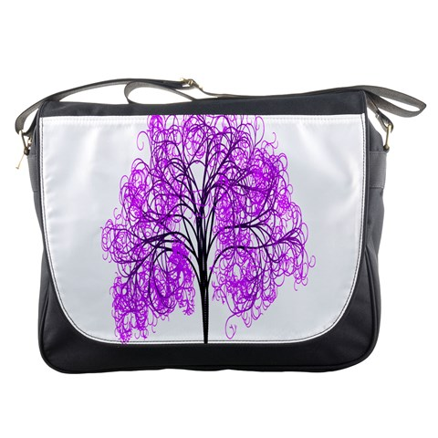 Purple Tree Messenger Bags