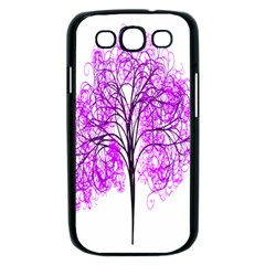 Purple Tree Samsung Galaxy S III Case (Black)