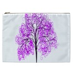 Purple Tree Cosmetic Bag (XXL)  Front