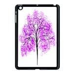 Purple Tree Apple iPad Mini Case (Black) Front