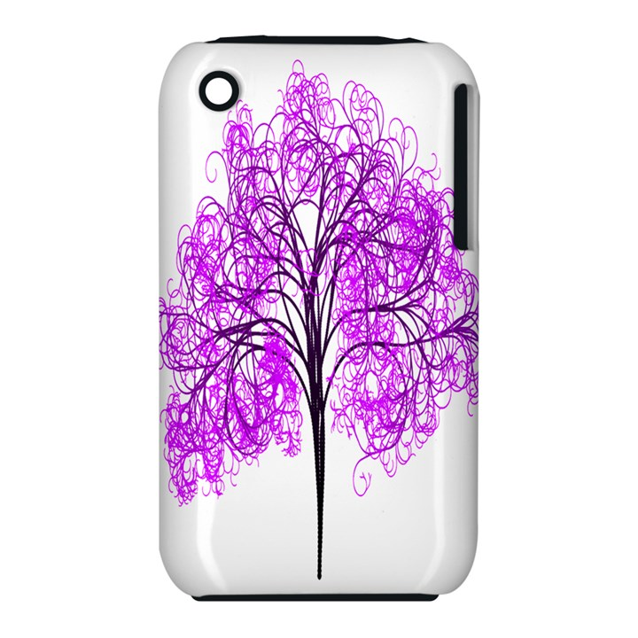 Purple Tree Apple iPhone 3G/3GS Hardshell Case (PC+Silicone)