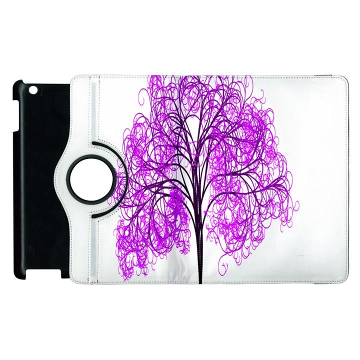 Purple Tree Apple iPad 2 Flip 360 Case