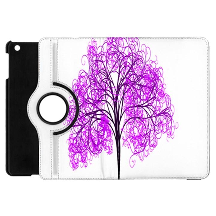 Purple Tree Apple iPad Mini Flip 360 Case