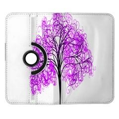 Purple Tree Samsung Galaxy Note II Flip 360 Case
