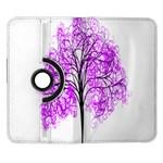 Purple Tree Samsung Galaxy Note II Flip 360 Case Front