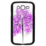 Purple Tree Samsung Galaxy Grand DUOS I9082 Case (Black) Front