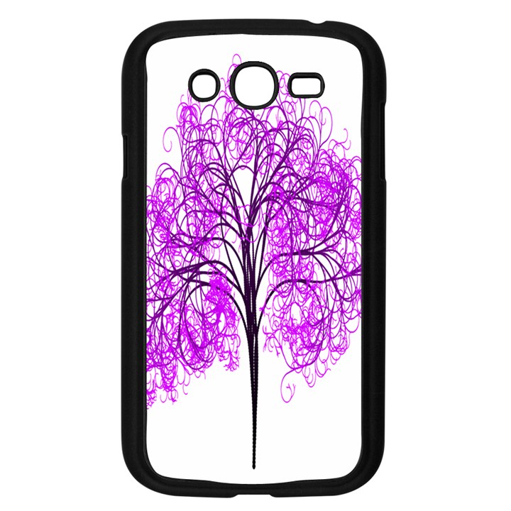 Purple Tree Samsung Galaxy Grand DUOS I9082 Case (Black)