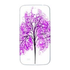 Purple Tree Samsung Galaxy S4 I9500/I9505  Hardshell Back Case