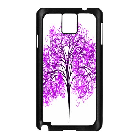 Purple Tree Samsung Galaxy Note 3 N9005 Case (Black)