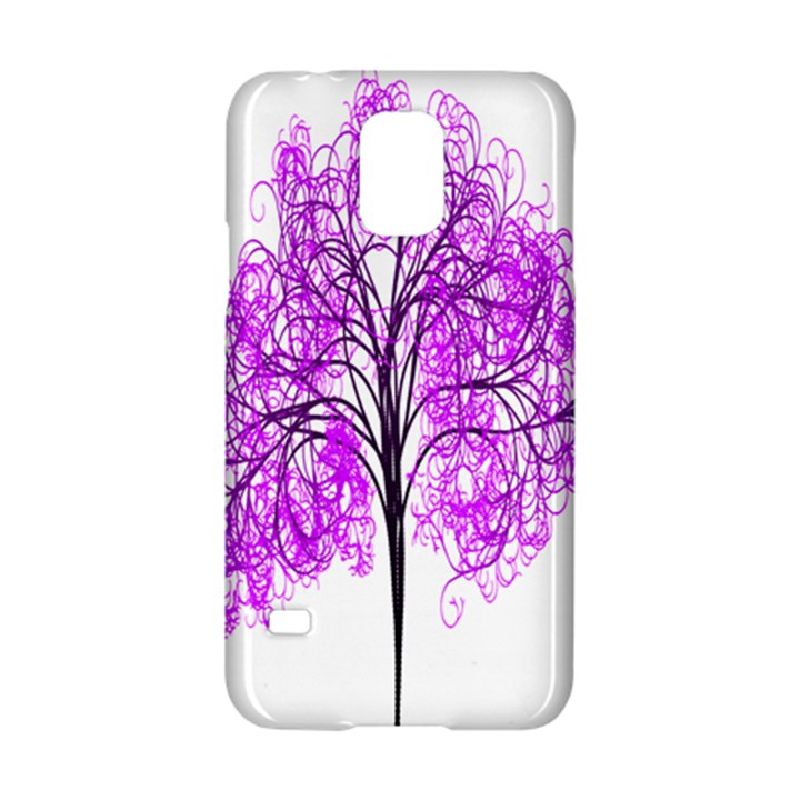Purple Tree Samsung Galaxy S5 Hardshell Case