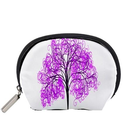 Purple Tree Accessory Pouches (Small)