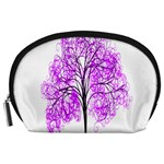 Purple Tree Accessory Pouches (Large)  Front