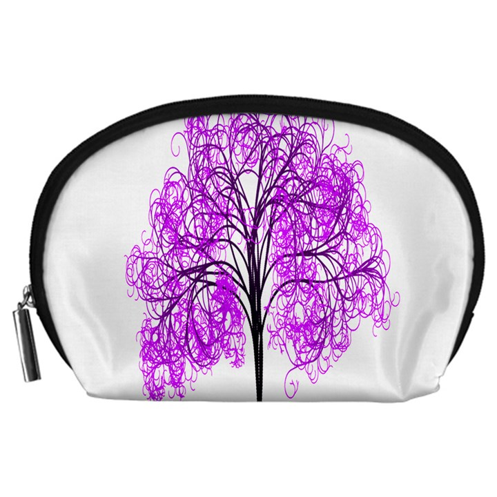 Purple Tree Accessory Pouches (Large)