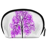 Purple Tree Accessory Pouches (Large)  Back