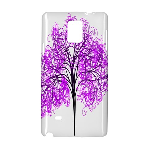 Purple Tree Samsung Galaxy Note 4 Hardshell Case