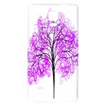 Purple Tree Galaxy Note 4 Back Case Front