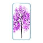 Purple Tree Apple Seamless iPhone 6/6S Case (Color) Front