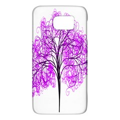 Purple Tree Galaxy S6