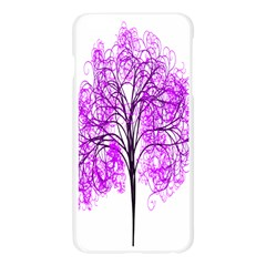 Purple Tree Apple Seamless iPhone 6 Plus/6S Plus Case (Transparent)