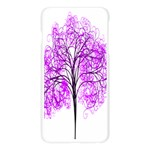 Purple Tree Apple Seamless iPhone 6 Plus/6S Plus Case (Transparent) Front