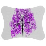 Purple Tree Jigsaw Puzzle Photo Stand (Bow) Front