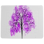 Purple Tree Jigsaw Puzzle Photo Stand (Rectangular) Front