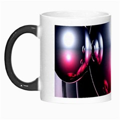 Red 3d  Computer Work Morph Mugs