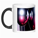 Red 3d  Computer Work Morph Mugs Left