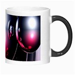 Red 3d  Computer Work Morph Mugs Right